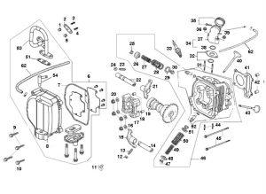 "Cilinderkop Kymco Agility 12"""