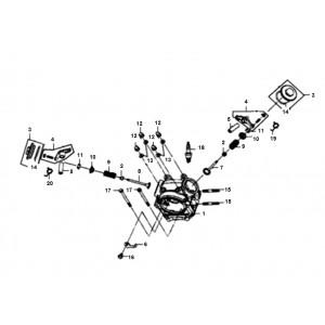 Cilinderkop Sym Allo