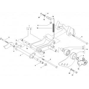 Subframe Piaggio Zip 2000 4t