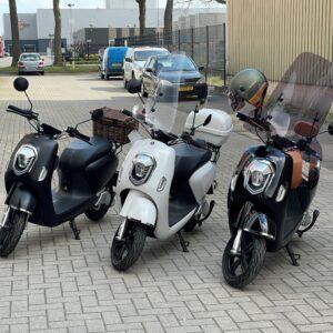 Windschermen Elektrische Scooters