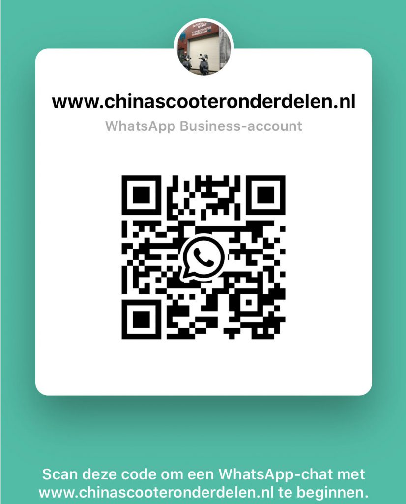 Whatsapp-Business-Afbeelding China Scooter Onderdelen