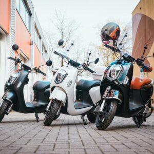 Q E-scooters | elektrische Scooters met Bosch motor